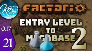 Factorio 0.17 Ep 21: REALLY BLUE AND GREY SCIENCE! - Entry Level to Megabase 2 - Tutorial Let's Play