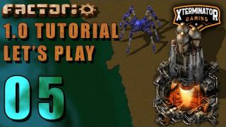 Factorio 1.0 Tutorial Lets Play EP5 - Green Science: Introduction Guide For New Players Gameplay