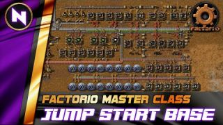 Optimizing Early Game with JUMP START BASE - Factorio 0.18 Tutorial/Guide/How-to