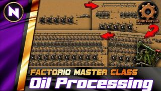 OIL REFINING & PROCESSING from Early, Mid to Late game - Factorio 0.18 Tutorial/Guide/How-to