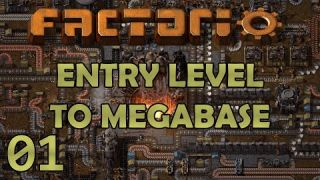 LEARNING THE BASICS! - Factorio 0.18 - Entry Level to Megabase - Tutorial Let's Play - Ep 1